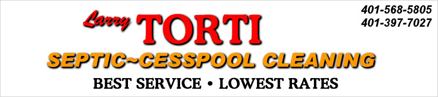 Larry Torti, Jr. Septic Cleaning, Cesspool Cleaning